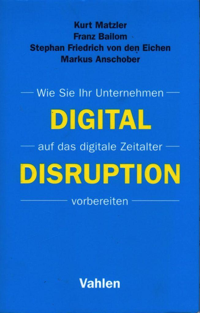 Das Titelbild von Digital Disruption