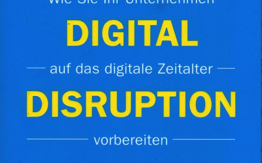 Das Titelbild von Digital Disruption